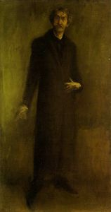 James Abbott Mcneill Whistler - Brown and gold - -