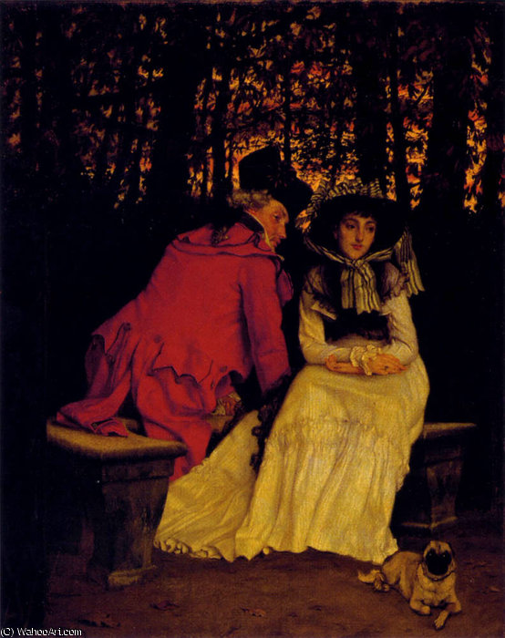 famous painting unaccepted of James Jacques Joseph Tissot