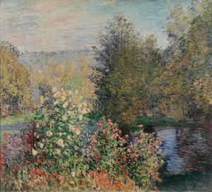 Claude Monet - Corner of the Garden at Montgeron