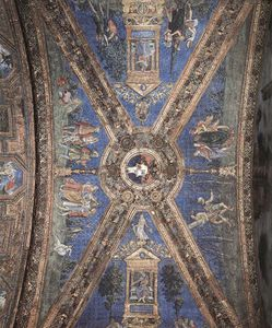 Bernardino Di Betto (Pintoricchio) - vatican - Vault decoration