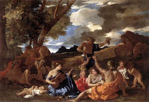 Nicolas Poussin - The andrians