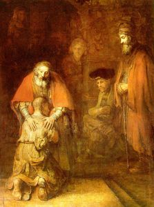 Rembrandt Van Rijn - The return of the prodigal son ca eremitaget