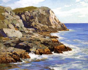 Edward Henry Potthast - monhegan