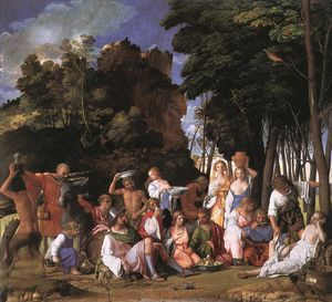 Giovanni Bellini - Feast of the Gods