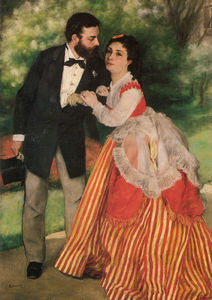 Pierre-Auguste Renoir - Portrait of Alfred and Marie Sisley