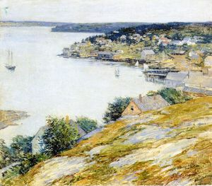 Willard Leroy Metcalf - east boothbay harbor