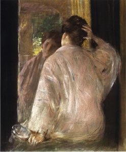 William Merritt Chase - Dorothy (mirror)