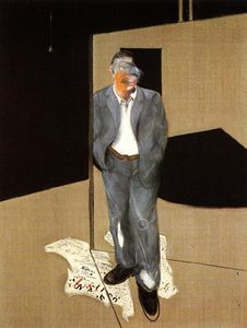 Francis Bacon - Study of a Man Talking,