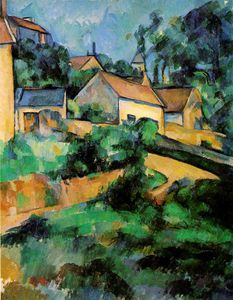 Paul Cezanne - Turning road at montgeroult,1899, coll.whitney,ny