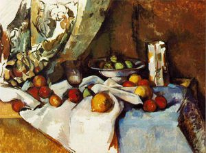 Paul Cezanne - Still life with apples,1895-98, moma ny,venturi - (736)