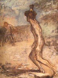 Edgar Degas - David & goliath, fitzwilliam museum, cambridge