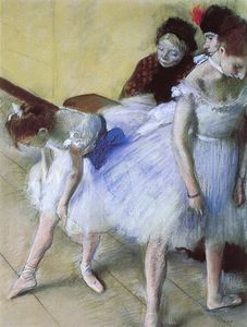 Edgar Degas - The Dance Examination, pastel, Denver Art Museum