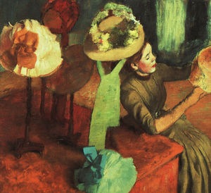 Edgar Degas - The Millinery Shop, Art Institute of Chicago