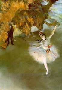 Edgar Degas - The Star 2