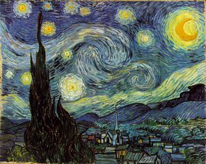 Vincent Van Gogh - The Starry Night, Moma NY