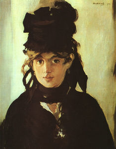 Edouard Manet - Berthe Morisot Holding a Bunch of Violets,