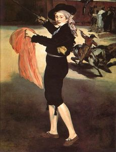 Edouard Manet - Mlle Victorine in the Costume of an Espada, Metr