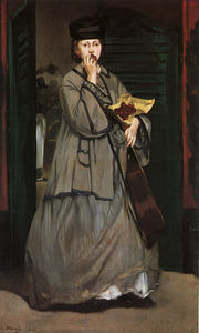 Edouard Manet - Street Singer, oil on canvas, Museum of Fine Art