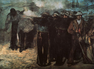 Edouard Manet - Study for 'Execution of the Emperor Maximilian',