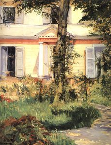 Edouard Manet - The House at Rueil, National Gallery of Victoria