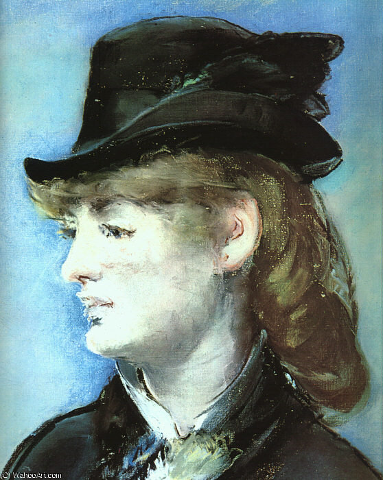 famous painting The Model for the Folies Bergère Bar, of Edouard Manet