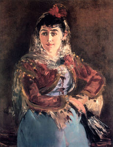 Edouard Manet - Portrait of Emilie Ambre in the role of Carmen