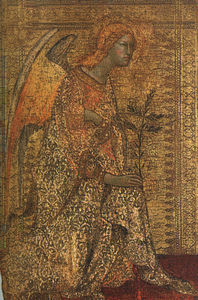 Simone Martini - The Angel of the Annunciation, 1333, National Galler