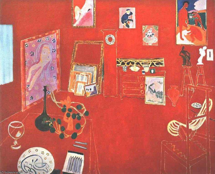 """Red Studio"" (1911)"