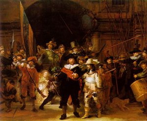 Rembrandt Van Rijn - The nightwatch