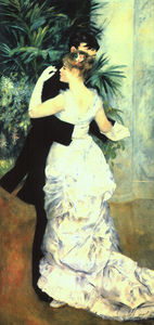 Pierre-Auguste Renoir - Dance in the City, oil on canvas, Musée d'Orsay