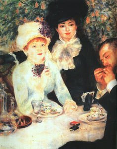 Pierre-Auguste Renoir - The End of the Lunch, oil on canvas, Städelsche