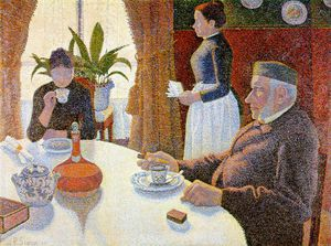 Paul Signac - The Dining Room (La Salle a manger)