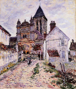 Claude Monet - Church at Vetheuil