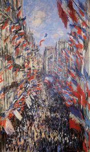 Claude Monet - Rue Montorgeuil 30th of June