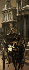 James Jacques Joseph Tissot - Going to the City
