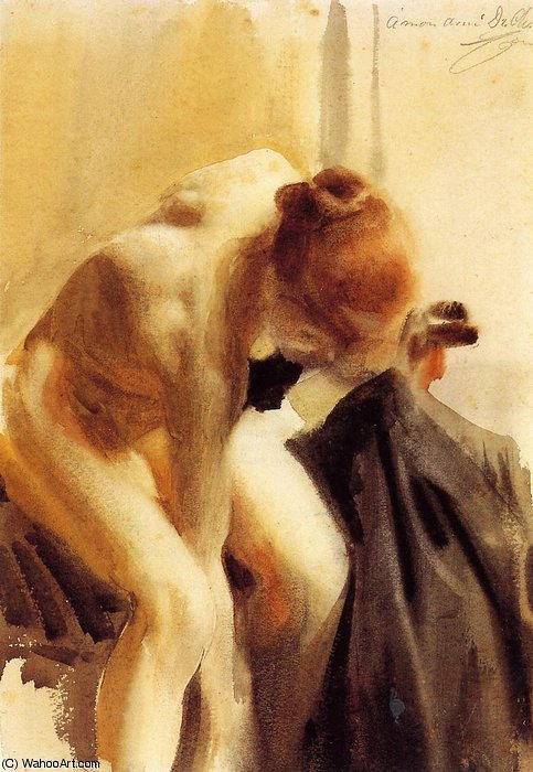 famous painting Female nude of Anders Leonard Zorn