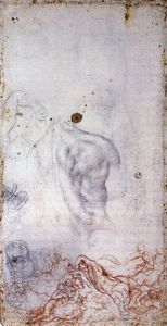 Jacopo Carucci (Pontormo) - Study for the Deluge