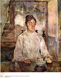 Henri De Toulouse Lautrec - Countesse Adele-Zoe de Toulouse-Lautrec the artist's mother