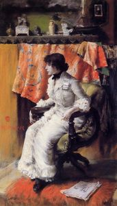 William Merritt Chase - Virginia gerson
