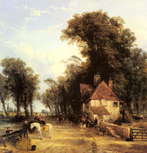Thomas Creswick - The Nearest Way in Summer