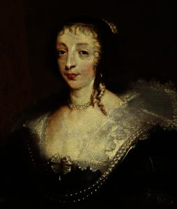 Anthony Van Dyck - Henrietta Maria, Queen of Charles I