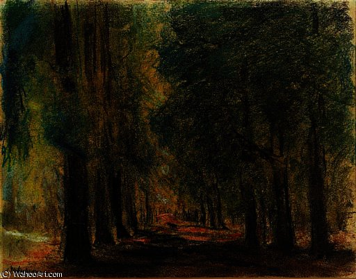 famous painting Allee in sakrow of Max Liebermann