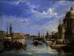 Edward Pritchett - The Mouth of the Grand Canal