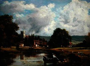 Frederick Waters (William) Watts - The Thames at Mortlake