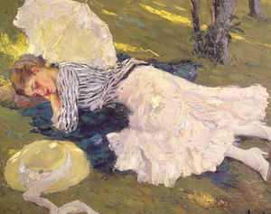 Edward Cucuel - Sleepy