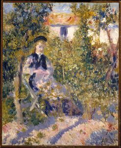 Pierre-Auguste Renoir - Nini in the Garden (1876)