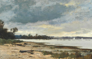 Edward Seago - The orwell, pin mill