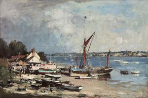 Edward Seago - The spritsail barge