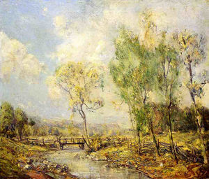 Guy Rose - Country landscape
