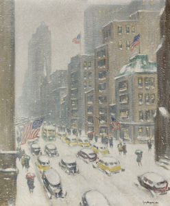 Guy Carleton Wiggins - 5th avenue, midtown